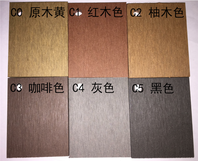Fireproof WPC Wall Cladding / Plastic Wood Composite Cladding For Outdoor