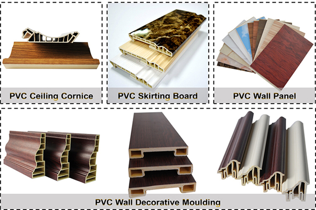 Wooden Color Wood Plastic Composite Decking Floor For Wall Ceiling
