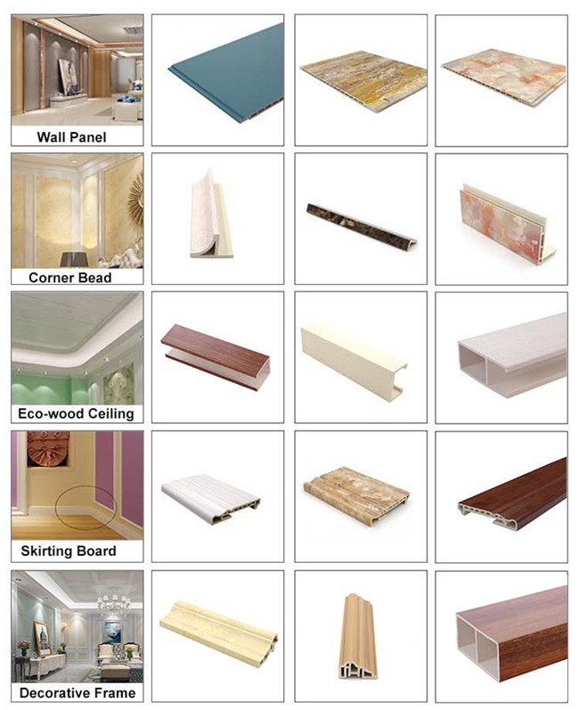 Wood Plastic Composite Wooden Batten Ceiling , Decorative Square Pvc Ceiling Tube