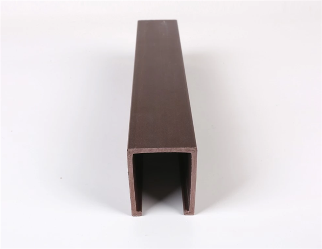 Soundproof WPC / PVC False Ceiling Tiles Wood Tube For House / Bedroom