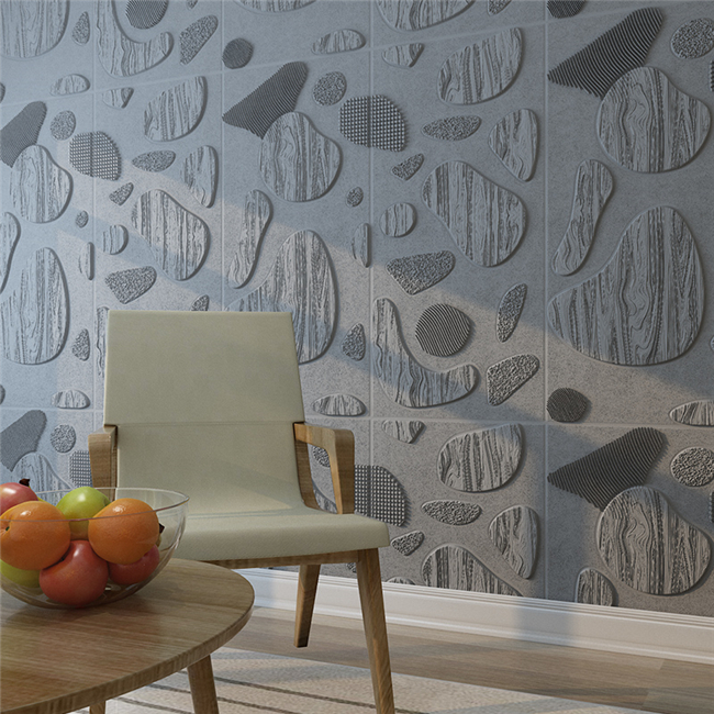 Lightweight Self Adhesive Wall Stickers With 3D Effect 700*700*10mm Size