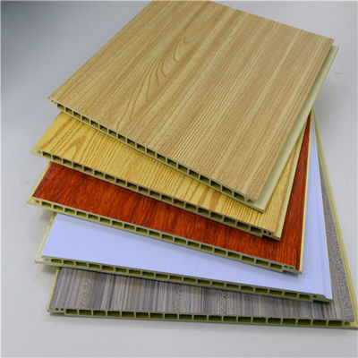 Fire Resistant Bamboo WPC Wall Panel , Plastic Marble Pvc Wall Panel / Ceiling Panels