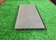 Recycled WPC Wall Cladding / Decorative Wood Plastic Composite Wall Covering