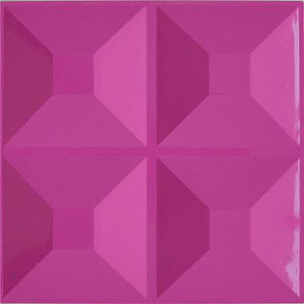 Painted Color 3D PVC Wall Panels / Board For Interior Wall And Ceiling Decorative