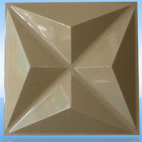 Reliable Performance 3D PVC Wall Panels / Textured Panel / Board With Plastic Material