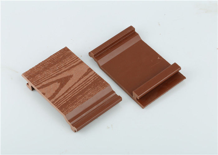 Waterproof Wood Plastic Composite Cladding Tiles For Exterior Walls