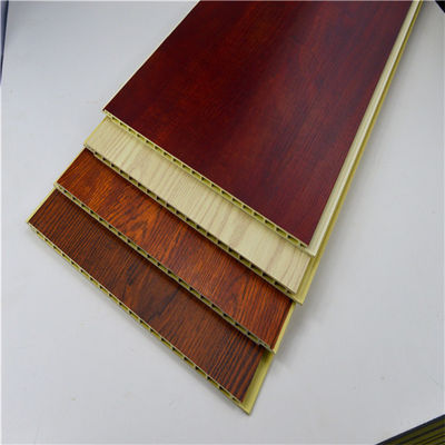 Bamboo Integrated WPC Wall Panel , Polyvinyl Chloride Mix Wood Powder Board