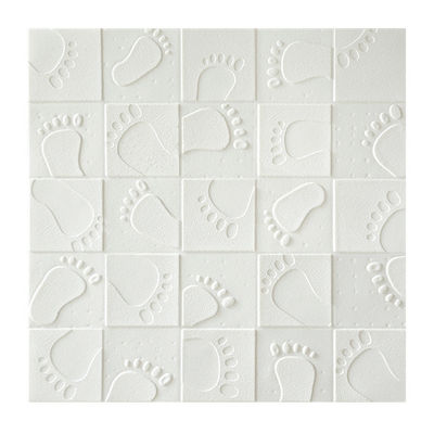New Building Material Self Adhesive Wall Panels , 3D Pe Foam Faux Brick Wall Sticker