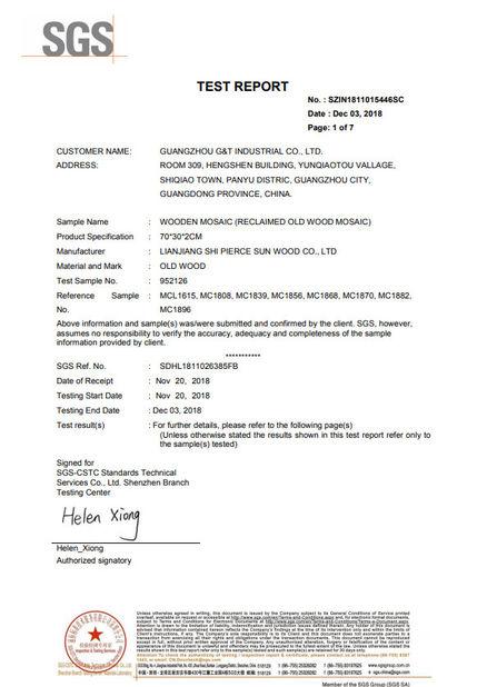 Quality Control - Guangzhou G&T Industrial Co , Ltd